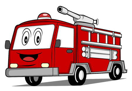 Illustration for Rescue Truck Car - Royalty Free Image