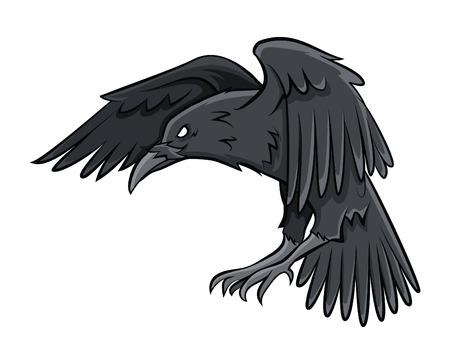 Ilustración de Raven - Imagen libre de derechos
