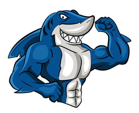 Ilustración de Shark Muscle - Imagen libre de derechos