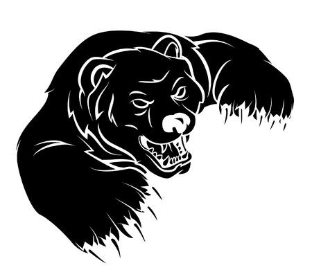 Illustrazione per Bear - Immagini Royalty Free
