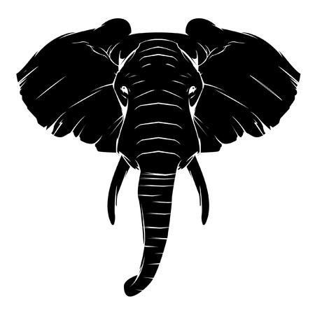 Ilustración de Elephant Symbol - Imagen libre de derechos