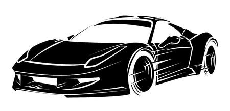 Ilustración de Sport Car - Imagen libre de derechos