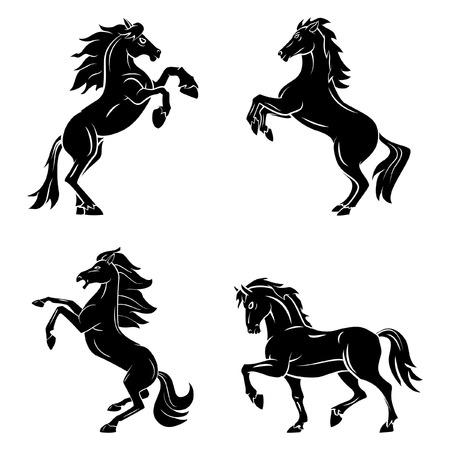 Illustration pour Tattoo Symbol Of Horse Tattoo - image libre de droit