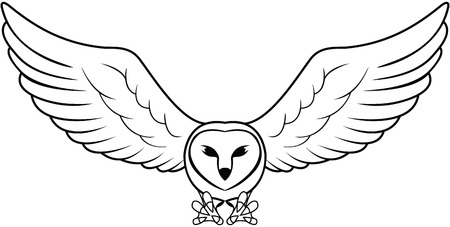 Ilustración de Owl - Imagen libre de derechos