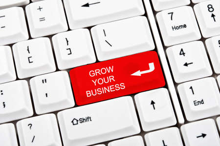 Grow your business key in place of enter key