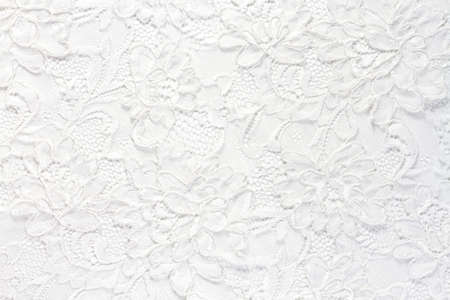 Foto de Wedding white lace background - Imagen libre de derechos