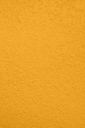 Photo for Saturated yellow colored low contrast Concrete textured background with roughness and irregularities to your concept or product. - Royalty Free Image