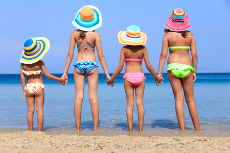 Photo for Girls on the beach - Royalty Free Image
