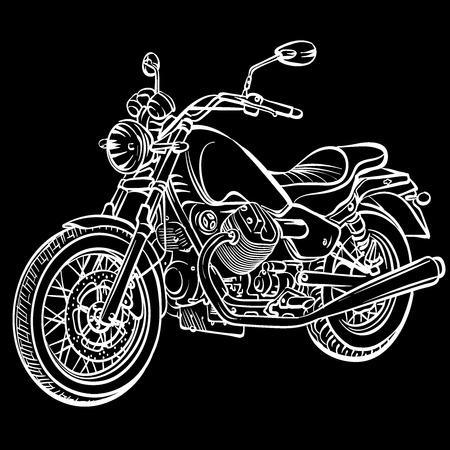 Illustration pour motorcycle old - image libre de droit