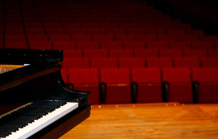 Photo for Concert grand piano, view from stage - Royalty Free Image