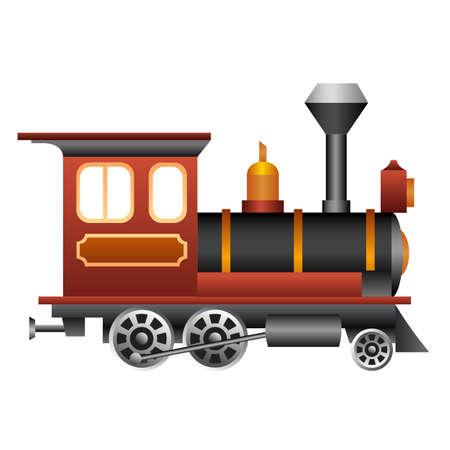 Illustration pour Old and vintage train for your design. - image libre de droit