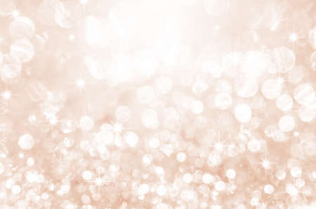 Foto de Lights on pink with star bokeh background. - Imagen libre de derechos