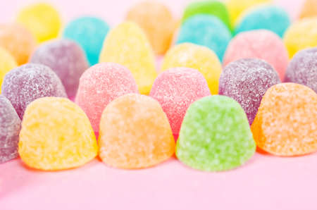 Photo for Sweet jelly sugar candy background - Royalty Free Image