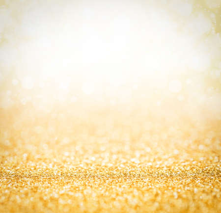 Photo for Abstract the gold light for holidays background - Royalty Free Image