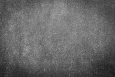 Photo for Black chalk board surface for background - Royalty Free Image