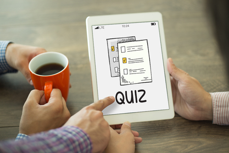 Photo for QUIZ CONCEPT - Royalty Free Image