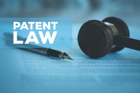 Photo pour PATENT LAW CONCEPT - image libre de droit