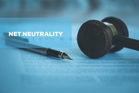 Foto de NET NEUTRALITY CONCEPT - Imagen libre de derechos