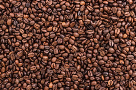 Foto für coffee beans on the table background texture - Lizenzfreies Bild