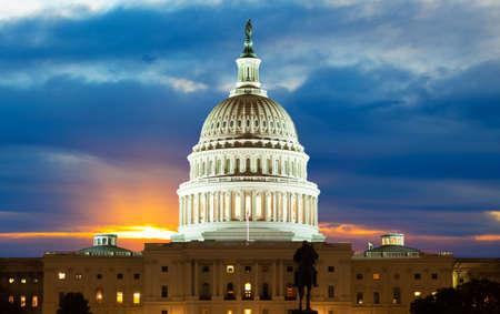 Foto de United States Capitol Building in Washington DC - Imagen libre de derechos