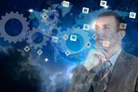Foto de e-business technologies concept - Imagen libre de derechos