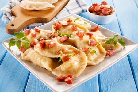 Photo pour Cheese dumplings - image libre de droit