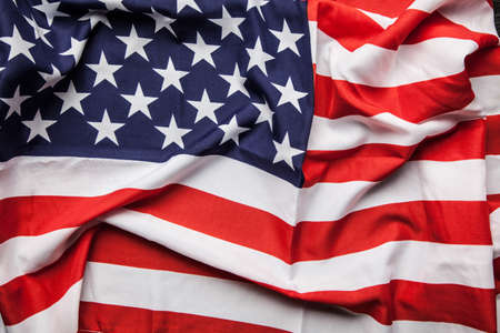 Photo for Flag of USA close up photo - Royalty Free Image