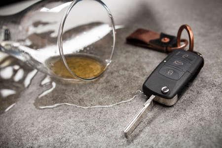 Photo pour Drunk driving concept - image libre de droit