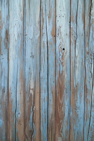 Photo for old blue wood wall texture  - Royalty Free Image