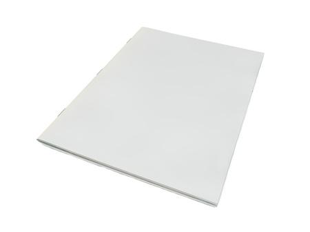 Photo pour render of blank magazine cover - image libre de droit