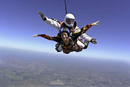 Foto de Skydiving photo - Imagen libre de derechos