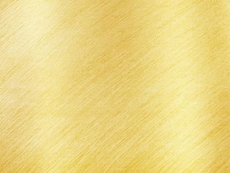 Photo pour Golden Metal Texture with Reflection Stripes as Background - image libre de droit