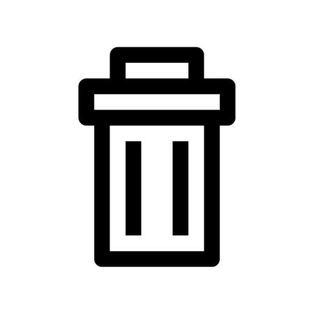 Illustration pour wastebin - image libre de droit