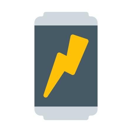 Illustration for Energy drink can - Royalty Free Image