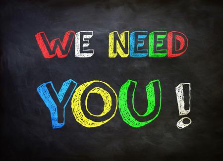 Foto de We need you   - Imagen libre de derechos