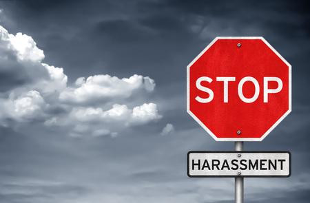 Foto de Stop harassment - Imagen libre de derechos