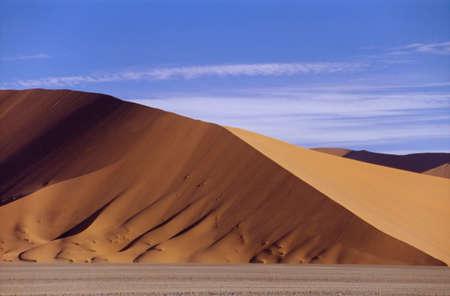 Photo for the orange dunes of the Namib Desert - Royalty Free Image