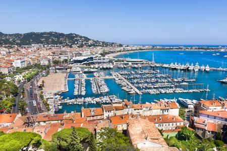 Foto de Cannes city view, south of France - Imagen libre de derechos