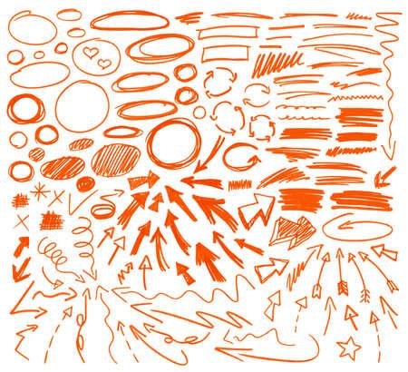 Ilustración de Set of graphic signs. - Imagen libre de derechos