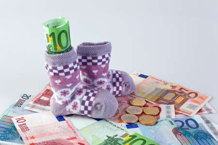 children s socks and euro notes allowances and grants