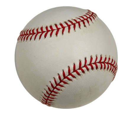 Baseball with clipping path (isolated)