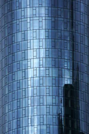 Foto de The tinted windows of the Comerzbank Tower in Frankfurt am Main.                        - Imagen libre de derechos