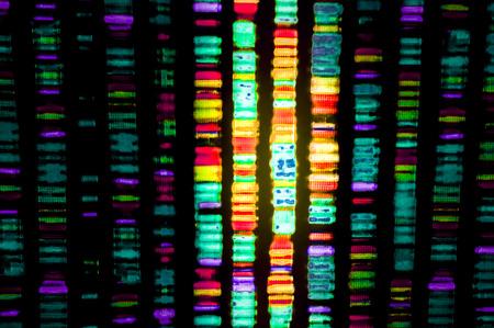 Foto de DNA sequence - Imagen libre de derechos