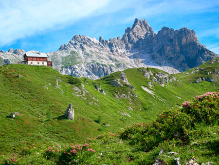 Photo pour Mountain Faulkogel in Austria - Salzburg - Lungau - Riedingtal - image libre de droit