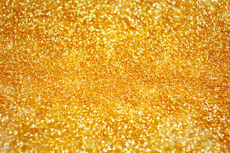 Photo for Gold dust texture with glitter. Magical background - Royalty Free Image