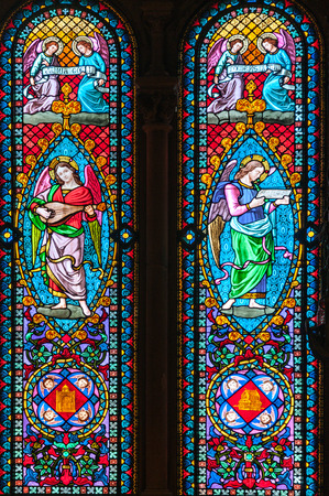 Photo for Detail of windows of a church - Royalty Free Image