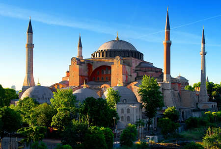 Photo for Hagia Sophia in summer - Royalty Free Image