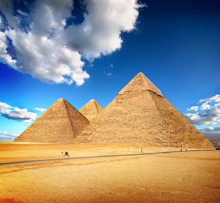 Photo for Pyramids of Giza - Royalty Free Image