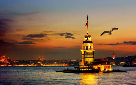 Photo for Tower in Istanbul - Royalty Free Image