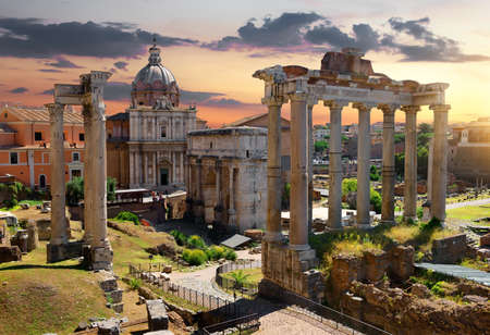 Photo for Morning on Roman Forum - Royalty Free Image